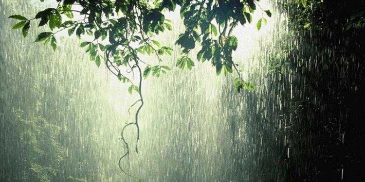 hujan itu berkah