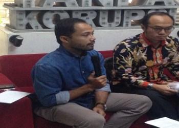 Koordinator Divisi Korupsi Politik ICW Donal Fariz. Foto: Tommy/Islampos