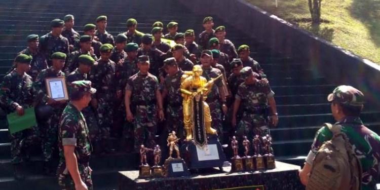 Kontingen Divisi 2 Kostrad Juara Umum Lomba Tontangkas Periode Dua 2017 1