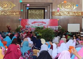 Silaturahim Akbar Santri TPQ seNusantara ke-5. Foto: Istimewa