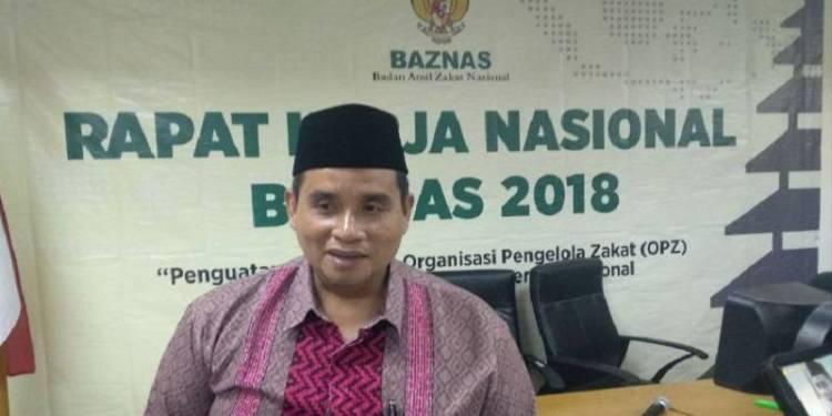 Sekretaris Badan Amil Zakat Nasional (BAZNAS) Drs. H. Jaja Jaelani, MM. Foto: Istimewa.
