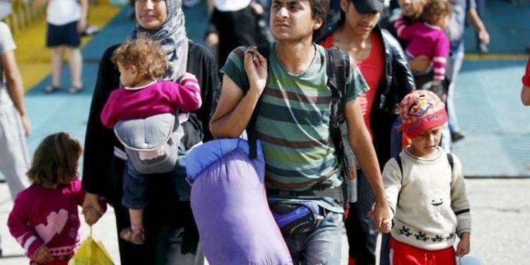 Pengungsi Suriah. Foto: IBTimes UK
