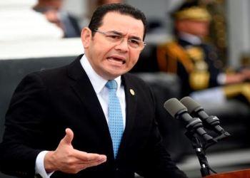 Presiden Guatemala James Morales. Foto: PIC