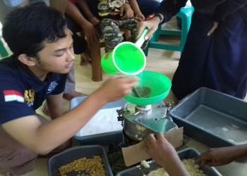 Susu kacang kedelai (sukake) dan tahu. Foto: Rhio/Islampos
