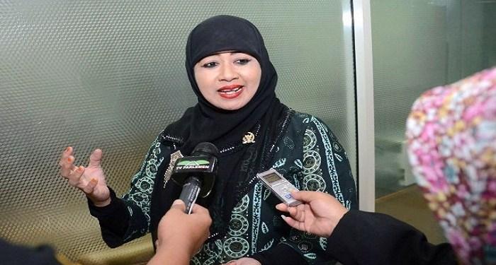 Anggota Komisi VIII DPR RI Endang Maria Astuti. Foto: Rhio/Islampos