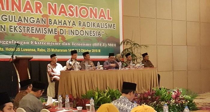Badan Penanggulangan Ekstremisme, Radikalisme dan Terorisme (BPERT) Majelis Ulama Indonesia. Foto: Rhio/Islampos