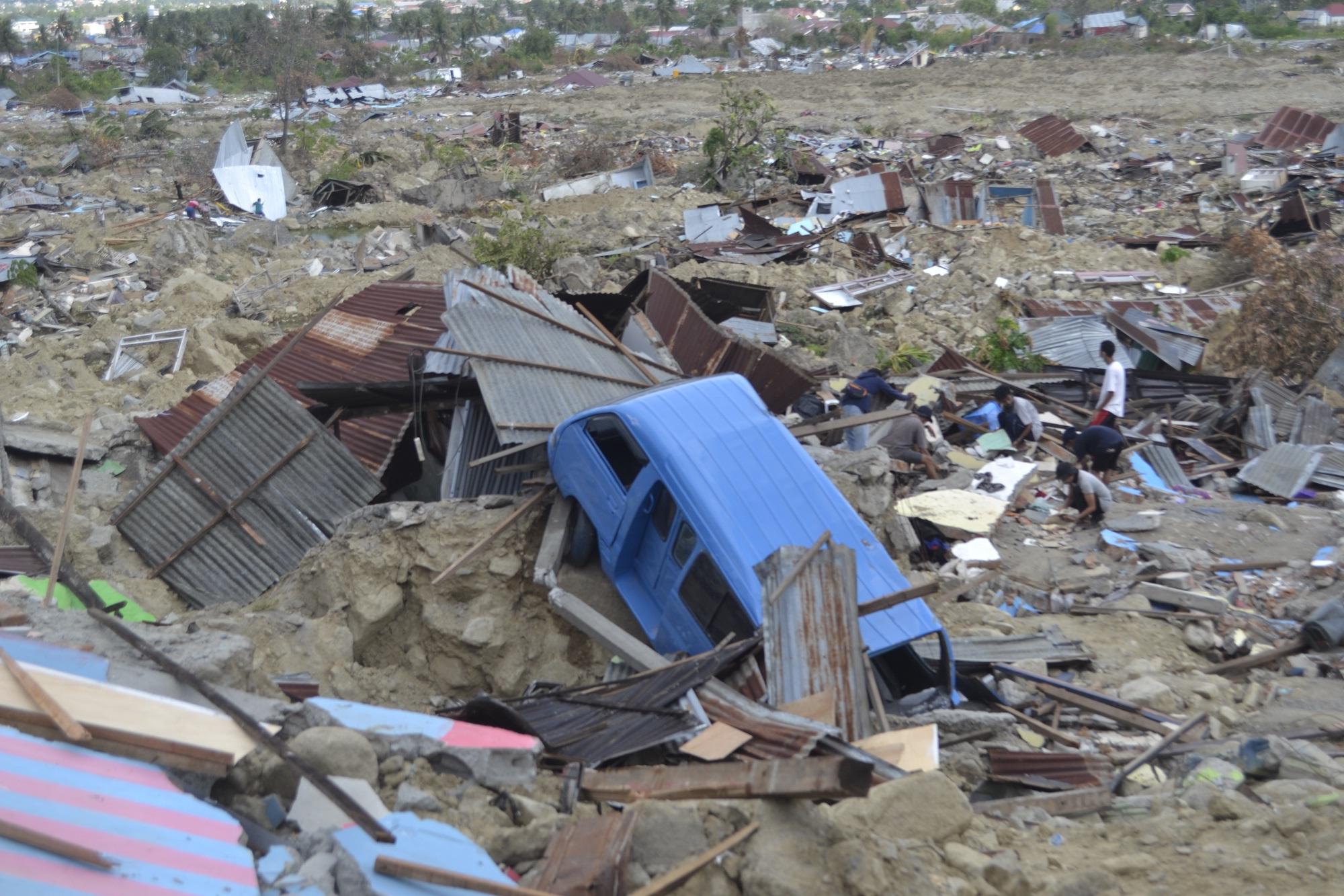 Begini Kondisi Terkini Palu Pasca Gempa 7,3 M dan Tsunami 5