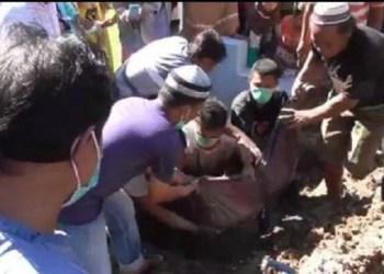 Makam di Gorontalo Dipindahkan Gara-Gara Beda Pilihan Politik. Foto: iNews