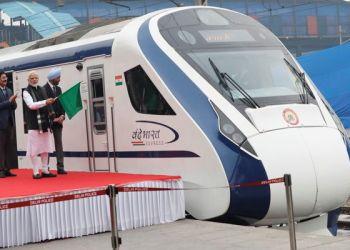 Kereta cepat India. Foto: Daily Mail