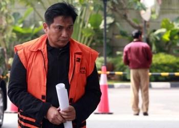 Tersangka kasus dugaan suap distribusi pupuk Bowo Sidik Pangarso. Foto: Liputan 6