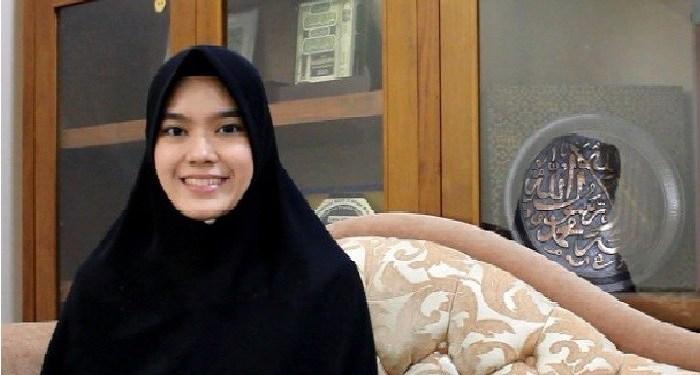 Nabila Abdulah Rahim Bayan, Juri Hafiz Cilik Indonesia 2019. Foto: eramadani