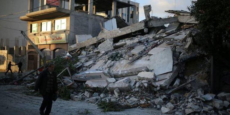 Agresi Israel ke Gaza telah menimbulkan kerugian jutaan dolar. Foto: Palinfo