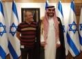 Mohammed Saud bersama sponsornya  saat berkunjung ke Israel. Foto: Middle East Eye