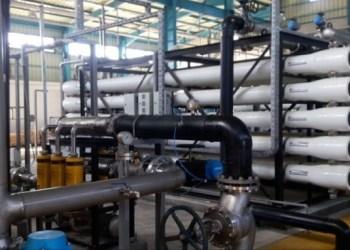 Pabrik desalinasi air laut Gaza. Foto: Palinfo