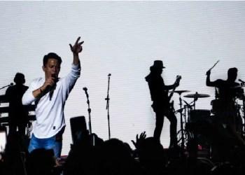 Ariel NOAH saat konser.  Foto: Viva