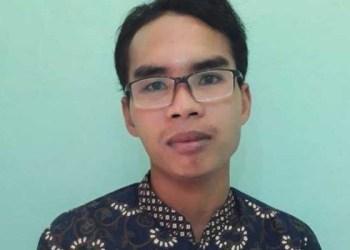 Kasri guru Agama di SDN 4 Desa Anggaraksa, Kecamatan Pringgabaya, Lombok Timur. Foto: Kompas