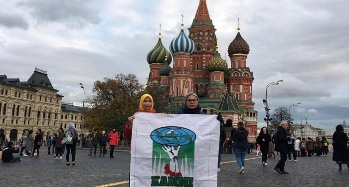 KAMMI deklarasikan perwakilan di Rusia, Senin (28/10/2019). Foto: Istimewa