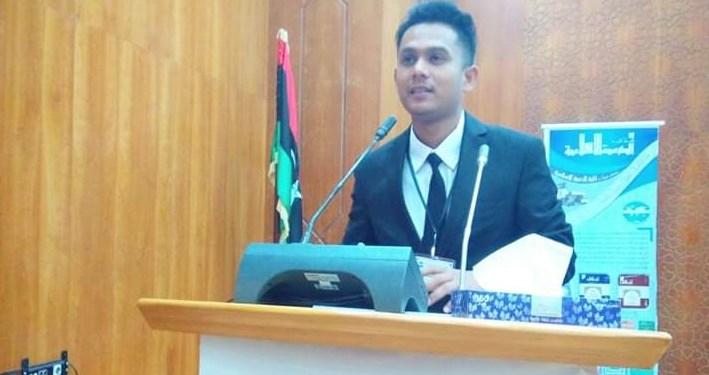 Deklarator KAMMI Libya Alvan Satria. Foto: Istimewa
