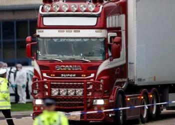 Penemuan puluhan jasad di dalam truk di Inggris. Foto: Reuters