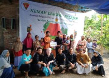 PII Jawa Timur berkunjung ke Kampung Mualaf. Foto: Istimewa