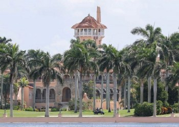 Resor Mar-a-lago milik Donald Trump. Foto: Reuters