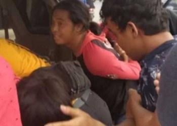 Polisi tangkap preman yang palak sopir angkot di Garut. Foto: Vivanews