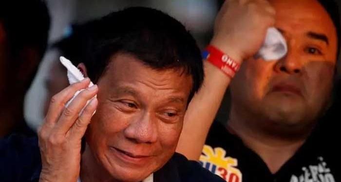 Presiden Filipina, Rodrigo Duterte. Foto: Reuters