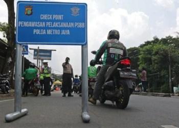 Jakarta telah menerapkan PSBB yang kemudian akan disusul oleh 3 daerah penyangga. Foto: Liputan 6