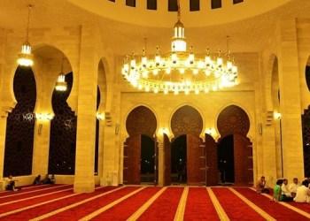 Masjid di Gaza. Foto: PIC