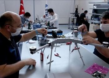 Perusahaan Turki genjot produksi Drone Kamikaze. Foto: Anadolu