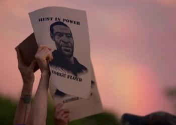 Pembunuhan terhadap warga kulit hitam George Floyd memicu kerusuhan besar di AS. Foto: Today