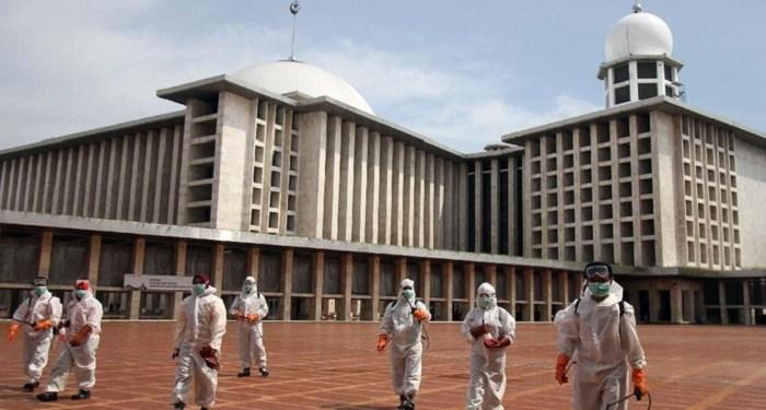 Masjid Istiqlal akan kembali dibuka. Foto: Detik