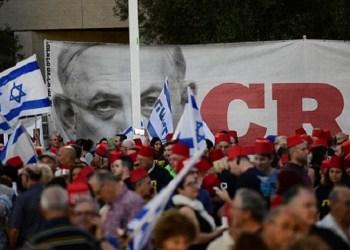 Ribuan orang tuntut Netanyahu mundur. Foto: Times of Israel