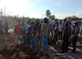 Keluarga Pasien Pukuli Relawan Pemakaman COVID-19 di Palangka Raya. Foto: Dok Polda Kalteng