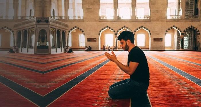 masjid didoakan malaikat
