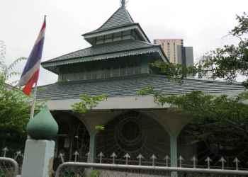Masjid Jawa di bangkok, Thailand. Foto: Wikipedia