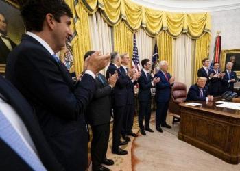 Pemerintah AS umumkan kesepakatan damai antara UEA-Israel. Foto: Tribun