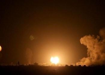 Pesawat Israel gempur Gaza. Foto: PIC
