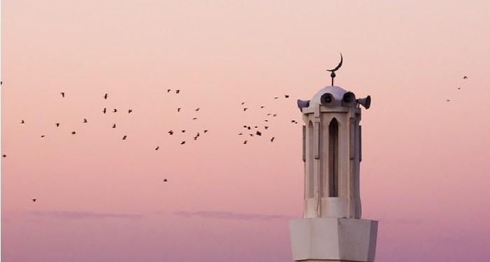 seni azan, menara masjid takbir Idul adha