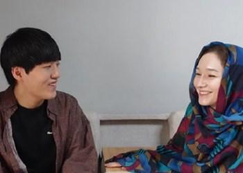 Daud Kim dan istri. Foto: Tangkapan layar dari video di Chanel Youtube Daud Kim