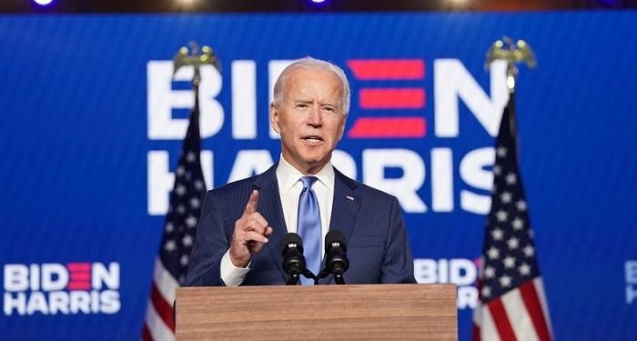 Presiden terpilih AS Joe Biden. Foto: The Sun