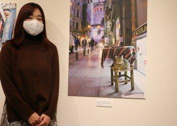 """Fotografer Jepang gelar pameran foto """"kucing Turki."""" Foto: Yeni Safak"""