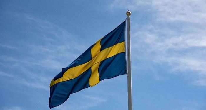 Bendera Swedia. Foto: Newsbit