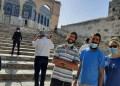 Yahudi di Al Aqsha. Foto: PIC
