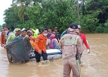 Banjir Kalimantan Selatan. Foto: Pikiran Rakyat