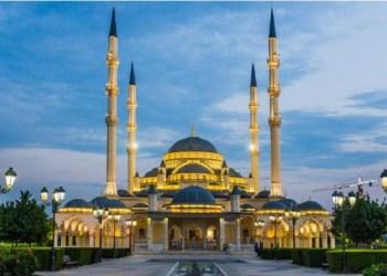 Masjid Jantung d Chechnya. Foto: RBTH