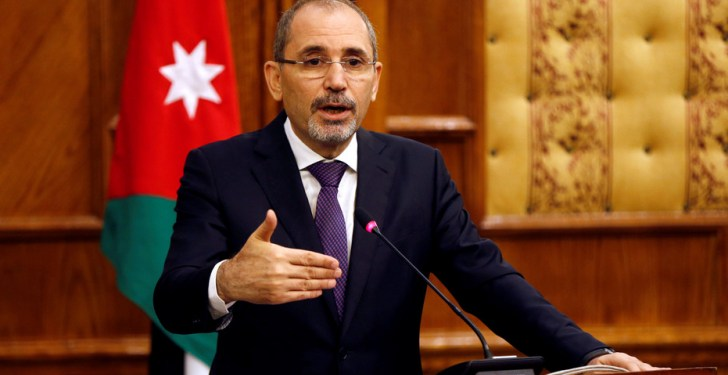 Menteri Luar Negeri Yordania Ayman Safadi. Foto: WAFA