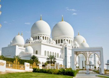Masjid Syekh Zayed UEA. Foto: Qoobah