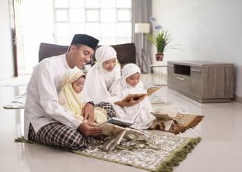 rumah keluarga muslim
