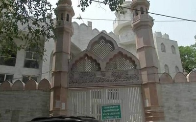 Masjid Green Park, New Delhi, India. Foto:  Jagran Times